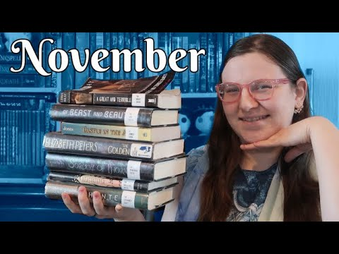 november-wrap-up---lots-of-ya-fantasy-+-amelia-peabody