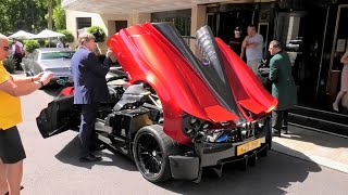 SUPERCARS in LONDON July 2021