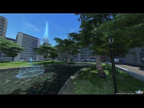 PSO2 Tokyo 2028 Daytime Scenery Theme