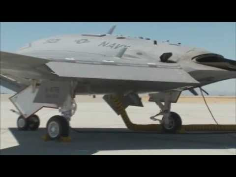 X-47B UCAS Flight Test Highlights - Summer 2011