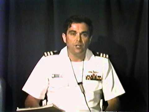 USS CAPE COD AD-43 - Singapore Port Brief - 1991