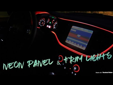 Dodge Charger RT Panel And Trim Glow Light (use On Any Car) !
