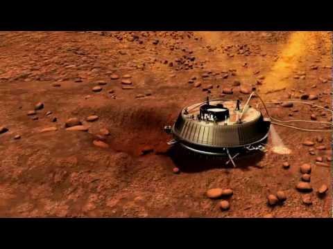 Touchdown of Huygens on Saturn's Moon Titan | NASA JPL Cassini Space Science HD Video