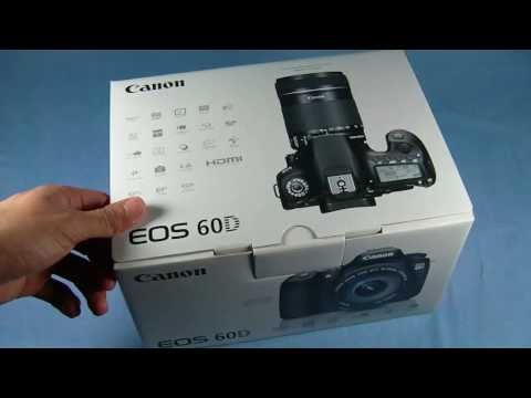 Canon 60D w/18-135mm 3.5-5.6 IS Lens Unboxing + Test Shots!!