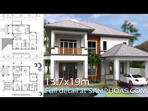 Home Design 3d Sketchup Villa Plan 13
