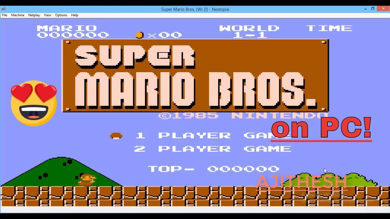 How To Download Super Mario Bros for free Pc/Laptop