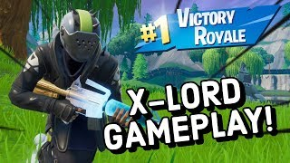 X-LORD Skin Gameplay In Fortnite