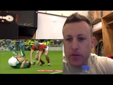 American Reacts to Rugby - Ep #15 - George North BIG HITS