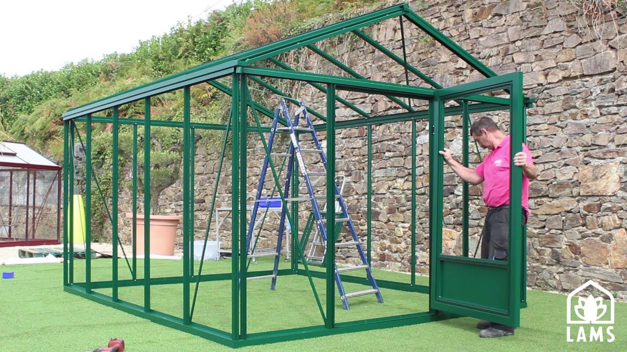 Comment monter une serre de jardin euro lams youtube - Comment monter une serre de jardin ...