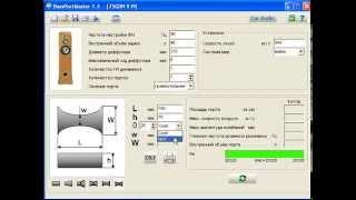 Программа BassportMaster : интерфейс, ввод данных