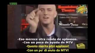 Eminem intervista e tensione con Mark Wahlberg (Sub-Ita)