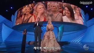 Kate McKinnon wins an Emmy (Korean sub)