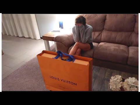 HE SURPRISED ME WITH A LOUIS VUITTON!!