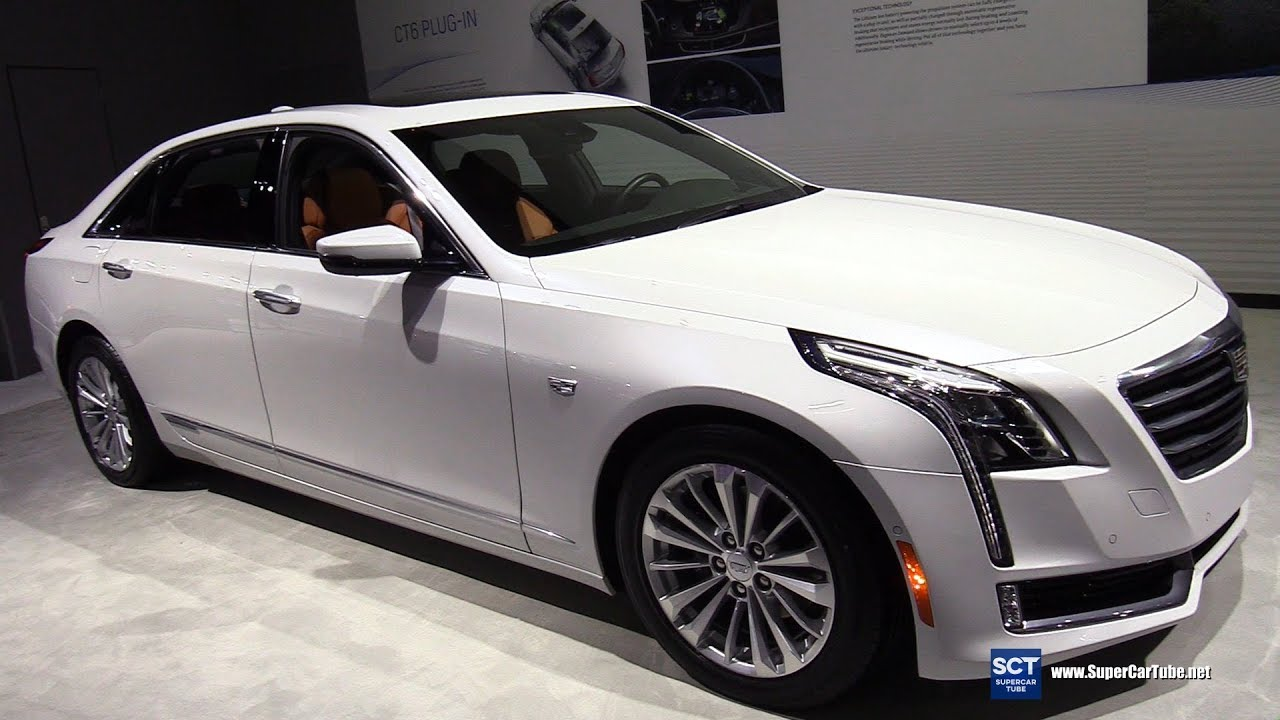 2018 Cadillac Ct6 Plug In Hybrid Exterior And Interior Walkaround