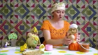 Эпизод разыгрывания сказки. Встреча с курицей