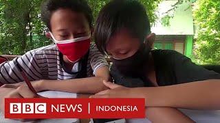 Tukar sampah plastik dengan kuota data untuk sekolah daring - CLICK | BBC News Indonesia