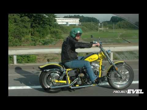 EVEL (イーベル) Evolution-Shovelhead hybrid Harley Davidson motor
