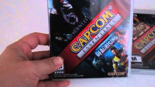 Capcom Essentials Bundle Unboxing 5 games for Price of 1