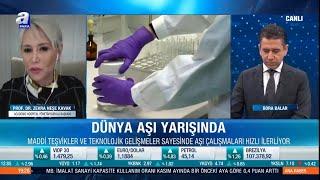 "Prof. Dr. Zehra Neşe Kavak - A Para ""Ana Haber Bülteni"" - 24.11.2020"