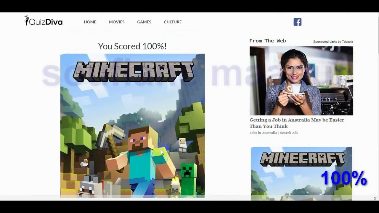 Ultimate Minecraft Quiz Answers - YouTube