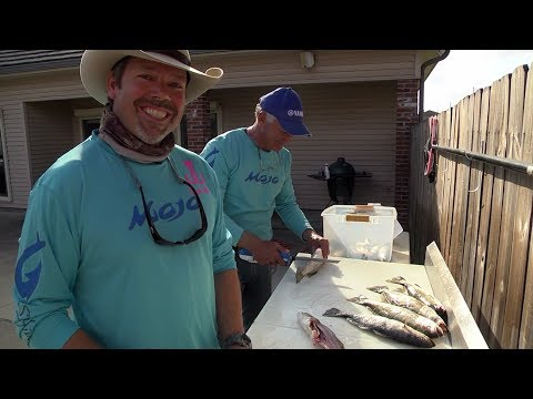 Two Ways to Clean Speckled Trout on Castin' Cajun