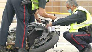 Etobicoke: Fatal motorcycle collision vs car Kipling and Queensway 7-29-2021