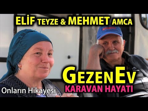 GezenEv | Karavan Hayatı | Elif Teyze ve Mehmet Amca'nın karavanını geziyoruz