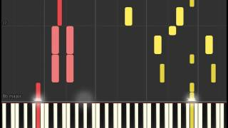 Norah Jones - Carry On (Piano sheet & Synthesia)