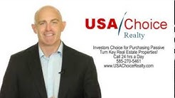 USA Real Estate Investments Rochester NY,USA Real Estate Investing Rochester, Turn Key Investing