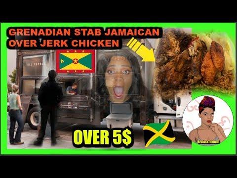 Jamaican Stabbed by Grenadian over jerk chicken