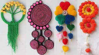 6-Easy-wall-hanging-craft-ideas-with-wool