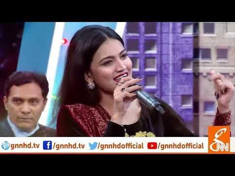 Young Pakistani Female Singer Iqra Sings 'Yaar Dadhi Ishq Atish' In Joke Dar Joke L 10 March 2019