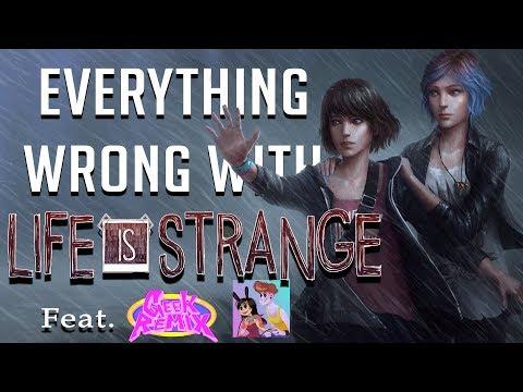 GamingSins:  Everything Wrong with Life is Strange (feat. Geek Remix)