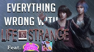 GamingSins:  Everything Wrong with Life is Strange (feat. Geek Remix)