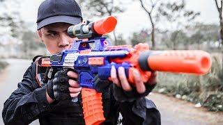 LTT Gaming Nerf Guns : SEAL X Use the Nerf MEGA guns skill Attack Criminal Group