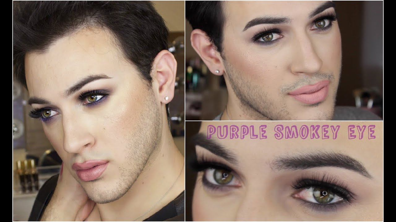 Purple Smokey Eye Makeup Tutorial | MannyMua - YouTube