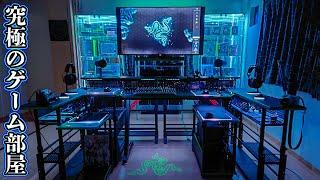 【もはや要塞】部屋にゲーミングデバイスの展示ルームを作ってしまった最強のゲーム環境がこちらです。 視聴者さんの部屋紹介#16