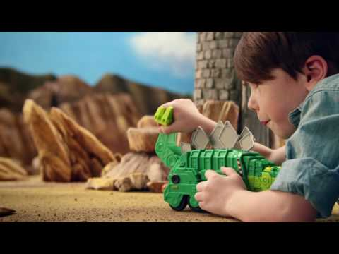 Build a Solution with the Dinotrux Ty & Friends Assortment | Mattel