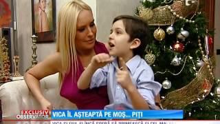 Vica Blochina, de dragul copilului, ar vrea sa cada la pace cu Piturca