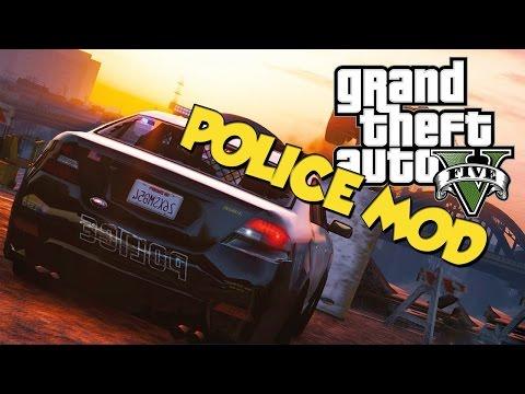 GTA V POLICE MOD | GTA V NA MODACH - NOWE LPCDFR - WCIEL SIĘ W POLICJANTA + DOWNLOAD [PL]