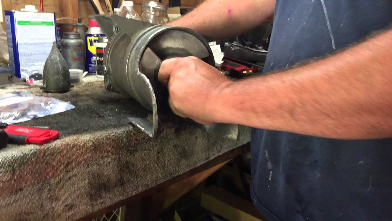 kawasaki x2 pump bearing removal and installation part 1 [ 1280 x 720 Pixel ]