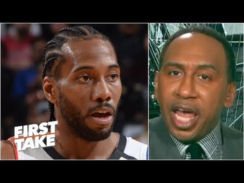Kawhi isn't on LeBron's level! - Stephen A. defends LeBron as the best in the world   First Take