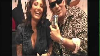 Sexy tattoed Coop Devil Girl Rikki Raxxx Interview Harley Fire Live