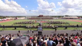 OC Panther Band at the Hill Country Marching Festival