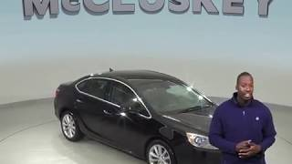C99241RP Used 2012 Buick Verano Base FWD 4D Sedan Black Test Drive, Review, For Sale -