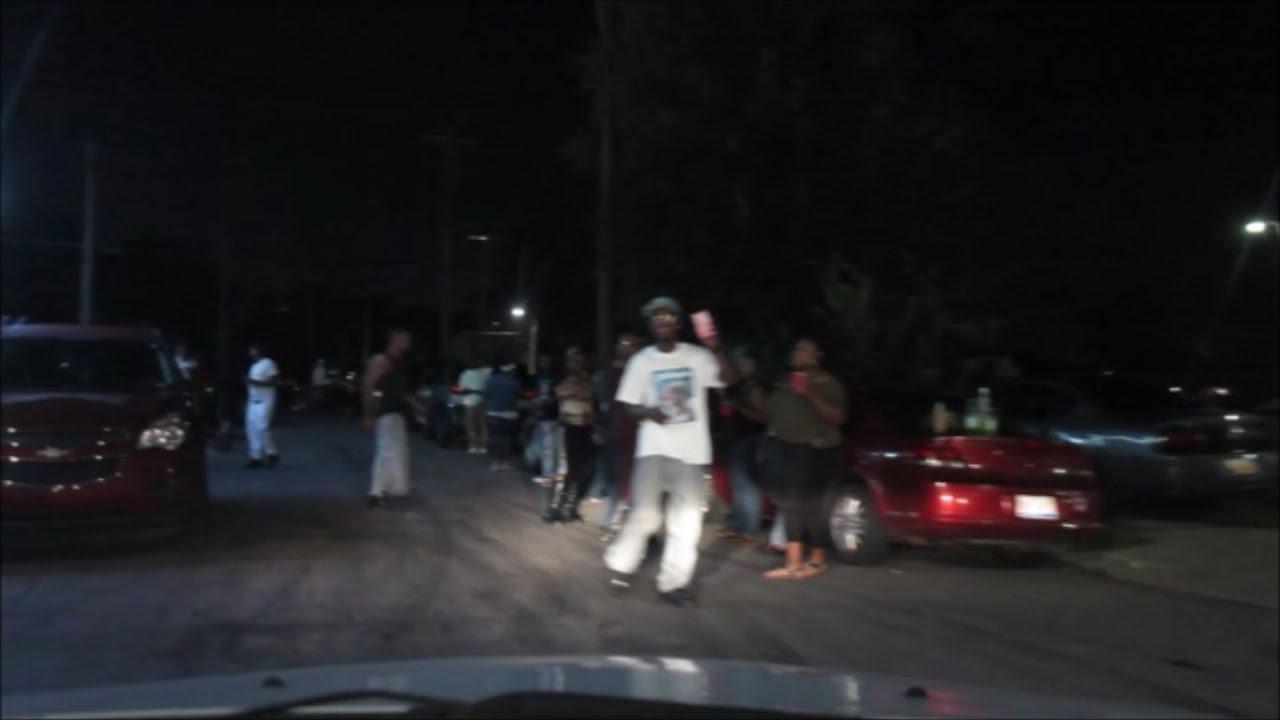 Detroit Hood On A Saturday Night Youtube