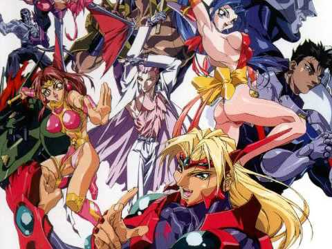 Voltage fighter gowcaizer 3 ova anime 1997 - 1 part 8