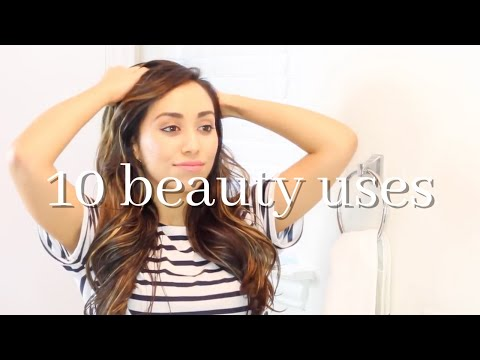 10 COCONUT OIL USES | COCONUT OIL BEAUTY TIPS