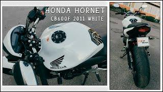 HONDA CB600F HORNET 2011 WHITE  (Продажа от мастерской MeTe Tune)