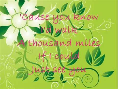 Sabrina A thousand miles